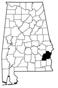 Map of Barbour County