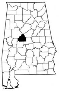 Map of Bibb County
