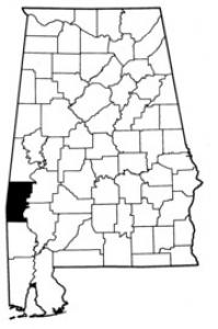 Map of Choctaw County