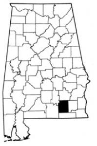 Map of Coffee County