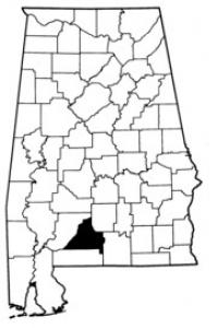Map of Conecuh County