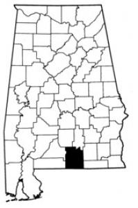 Map of Covington County