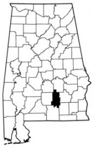 Map of Crenshaw County