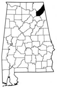 Map of Dekalb County