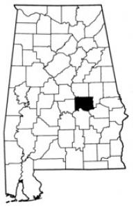 Map of Elmore County