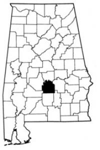 Map of Lowndes County
