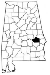 Map of Macon County
