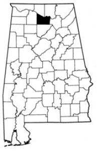 Map of Morgan County