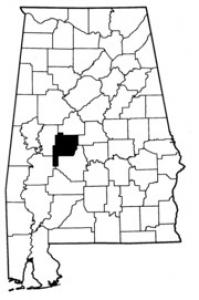 Map of Perry County