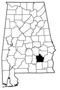Map of Pike County