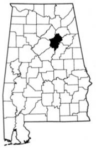 Map of St. Clair County