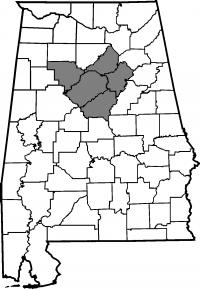Map of Jefferson County