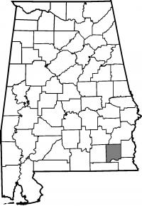 Map of Dale County