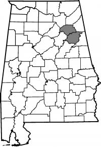 Map of Alabama A&M University