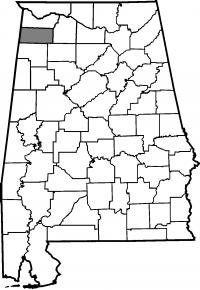 Map of Franklin County