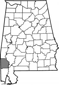 Map of Washington County
