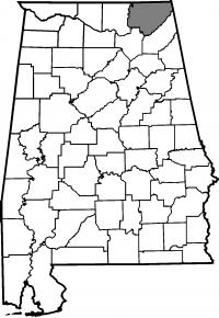 Map of Jackson County