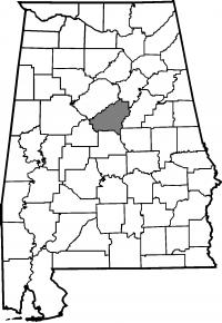 Map of Shelby County