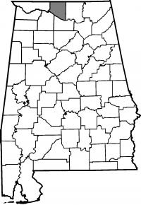 Map of Limestone County