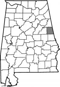 Map of Randolph County