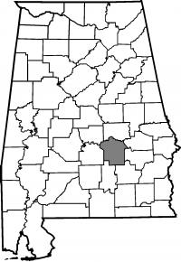 Map of Montgomery County