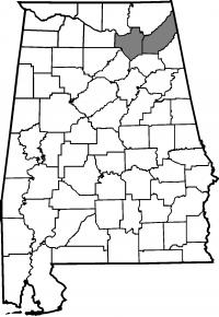 Map of Marshall County